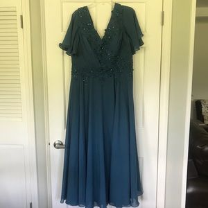 Ink Blue Formal Size 18 Dress Brand New with Tags!
